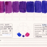 Color-Studies-Acrylic-CQuinacridone-Magenta-to-Ultramarine-Blue