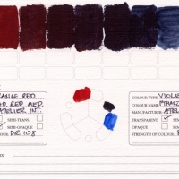Color-Studies-Acrylic-Cadmium-Red-Medium-to-Phthalo-Blue-Red-Shade