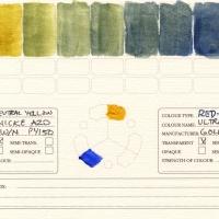 Color-Studies-Acrylic-Nickel-Azo-to-Ultramarine-Blue
