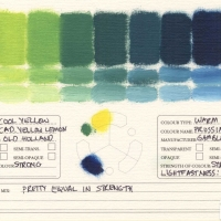 Color-Mixing-Charts-Oils-Cadmium-Yellow-Lemon-to-Prussian-Blue