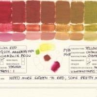 Color-Mixing-Charts-Oils-Quinacridone-Magenta-1980-to-Cadmium-Green