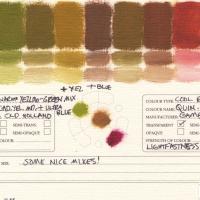 Color-Mixing-Charts-Oils-Warm-Yellow-Green-Mix-to-Quinacridone-Magenta2