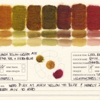 Color-Mixing-Charts-Oils-Warm-Yellow-Green-Mix-to-Quinacridone-Violet3