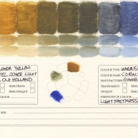 Color-Mixing-Charts-Oils-Yellow-Ochre-Light-to-Cobalt-Blue