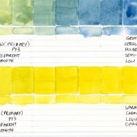 Color-Studies-Watercolor-Lemon-Yellow-to-Cerulean-Blue-and-Cadmium-Yellow-Medium-010