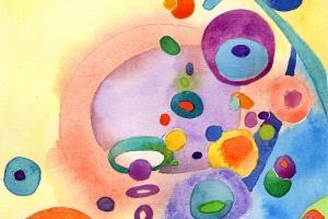 Colorful Mini Watercolor Paintings