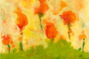 Abstract Encaustic Paintings