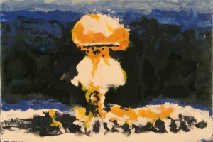 Nuclear Bomb Paintings