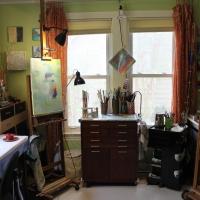 Studio-Painting-Setup