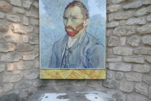 Van Gogh at Monastery Saint-Paul-de-Mausole, FR 2018